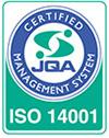 JQA-EM7602 ISO14001 認証